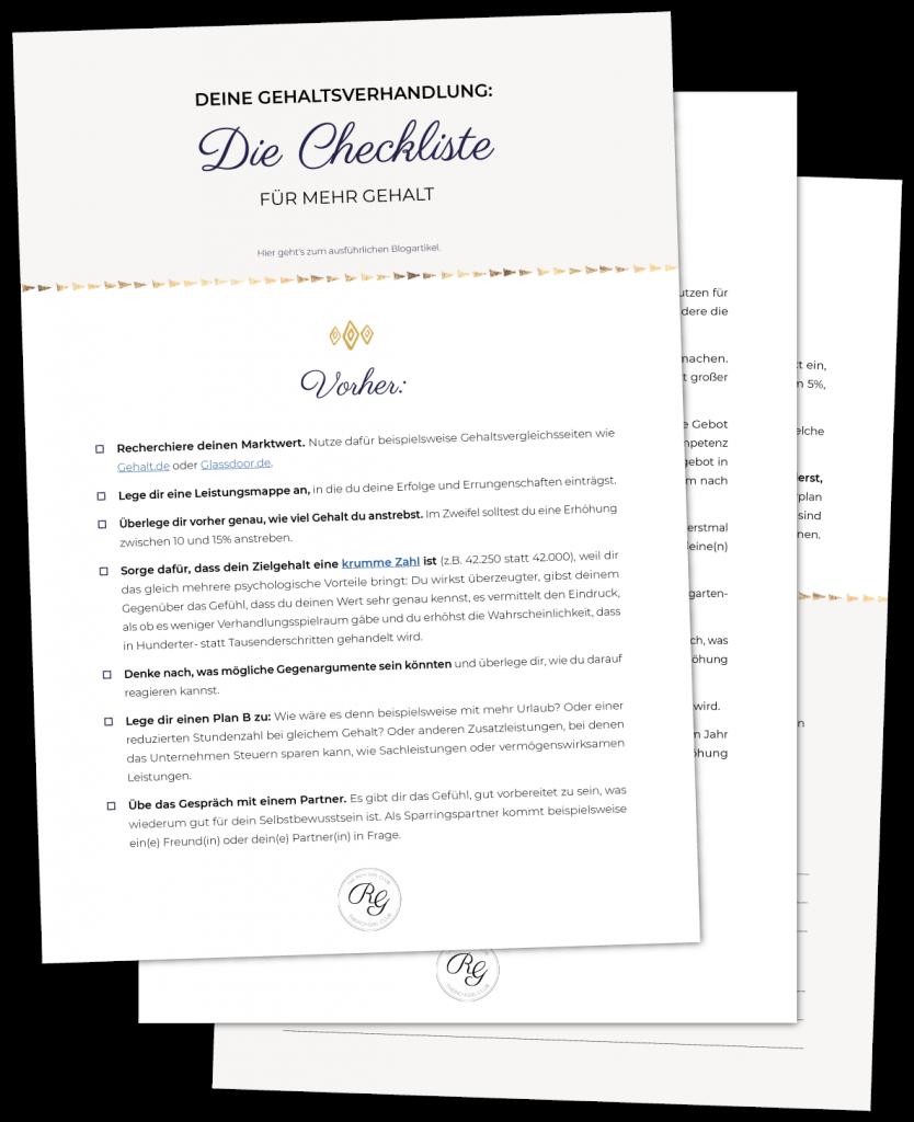 Gehaltsverhandlung_Tipps_Checkliste_Vorschau