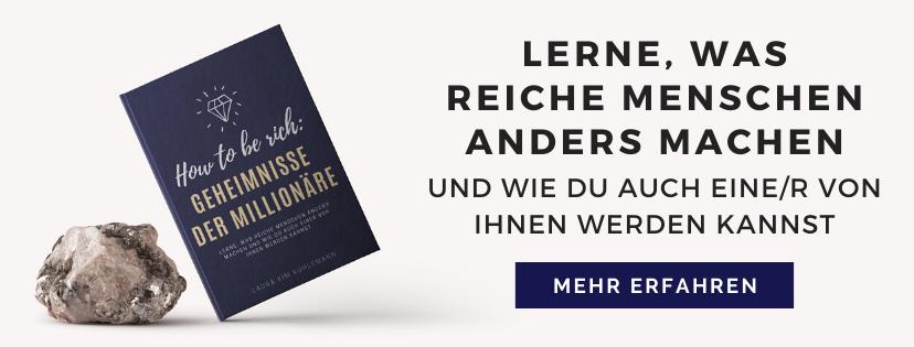Banner E-Book Geheimnisse der Millionäre, Wann ist jemand reich