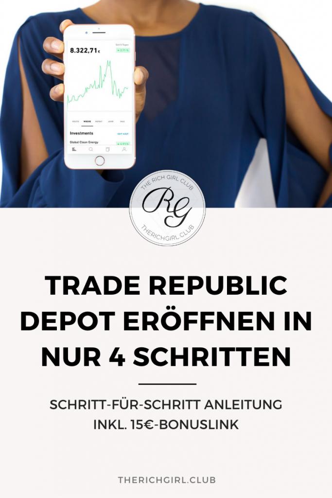 Trade Republic Depot eröffnen Titelbild