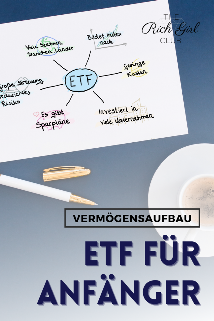 Titelbild ETF für Anfänger Vermögensaufbau